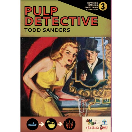Pulp Detective expansion 3: Adventurers, Gadgets and Nemeses