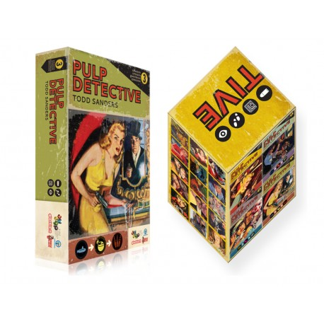 Pulp Detective expansion 2 + Slip case boxe