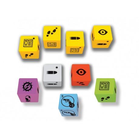 Pulp Detective: Set of 9 dice