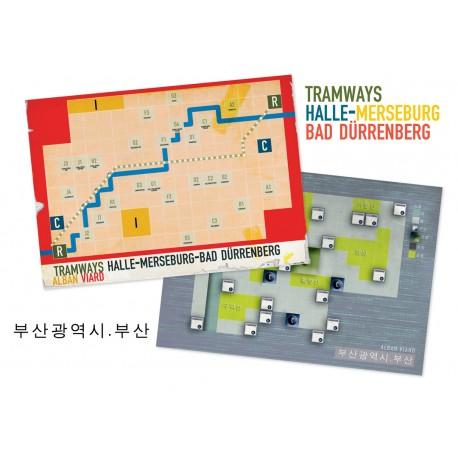 Tramways: Busan/Halle Merseburg