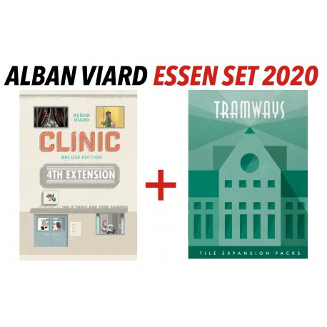 The Essen 2020 Alban Viard's Extensions