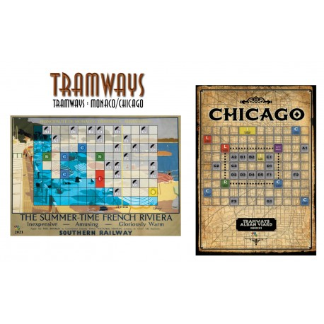 Tramways: Monaco / Chicago