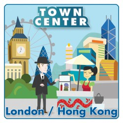Town Center :  London / Hong Kong