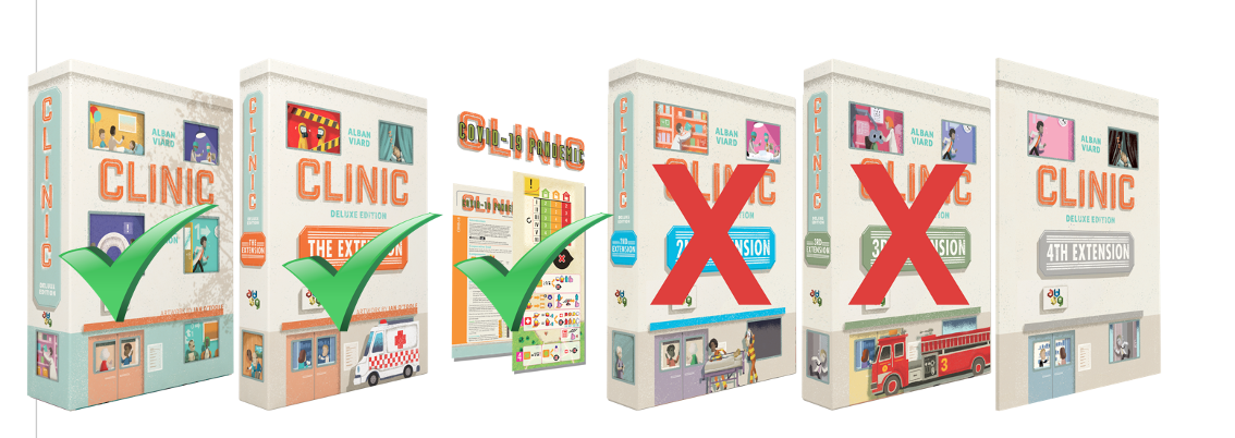 Clinic Extension 4 + Tramways Tile Expansion pack